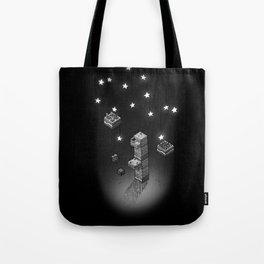Cube Line Garden v2 Tote Bag