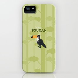 The Toucan iPhone Case