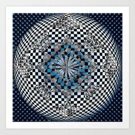 Hyper-Square Art Print