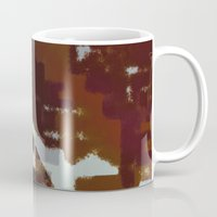 tapestry Mugs featuring Tapestry by Anish K Sah
