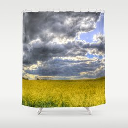 The Storm Arrives Shower Curtain