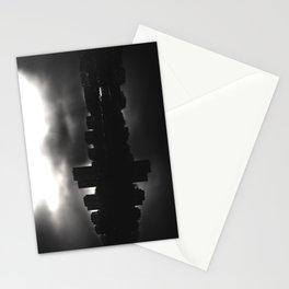 Sleeping in the dark (black v.) Stationery Cards