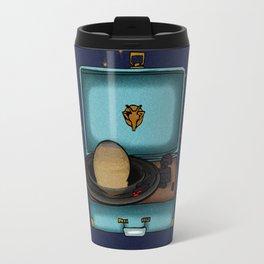 Saturn is home in Capricorn. Travel Mug