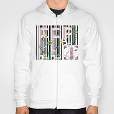 Four Freedoms Barcode Black Hoody