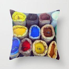Color_01 Throw Pillow
