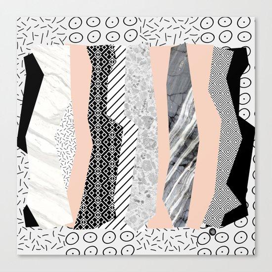 Geometric shapes 02 Canvas Print