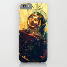 Vintage Christmas Astronaut iPhone 6s Slim Case