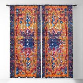 Vintage Antique Traditional Berber Atlas Moroccan Style Design. Blackout Curtain