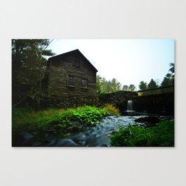 Saw Mill Canvas Print