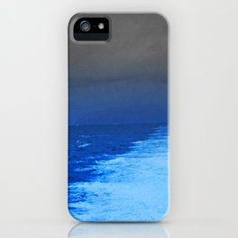 Catalina Jet At 43 Knots. Poem: Fast Enough iPhone Case