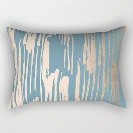 Bamboo Bronze Gold 2 Rectangular Pillow