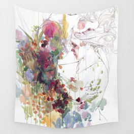 take care of your garden Wall Tapestry