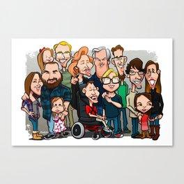 Strenge Family Canvas Print