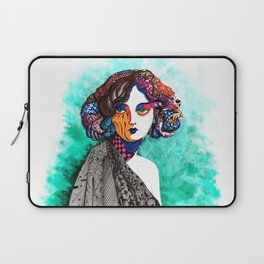"""When the muse come to visit"" Laptop Sleeve"