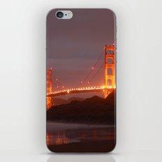 Blazin Golden Gate iPhone & iPod Skin