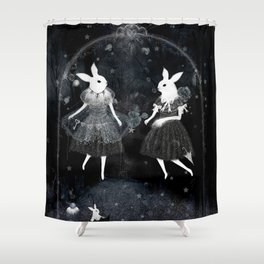 weird sisters Shower Curtain