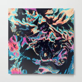 Who spilled these colors Metal Print