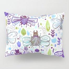 Inky Beetles Pillow Sham