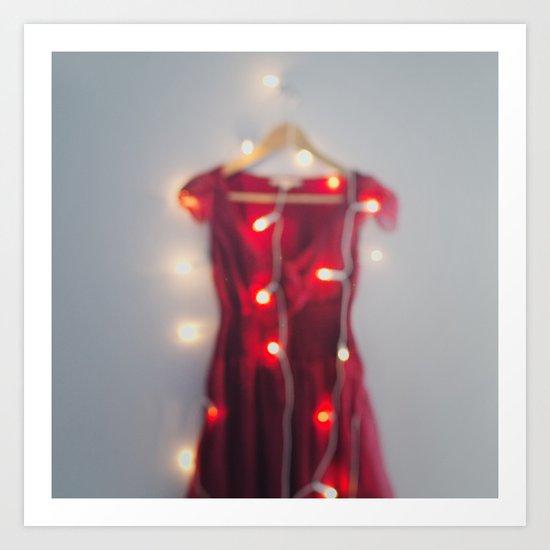 The dress. Art Print