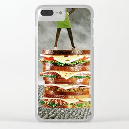 You Can Never Have Too Many Sandwiches Clear iPhone Case