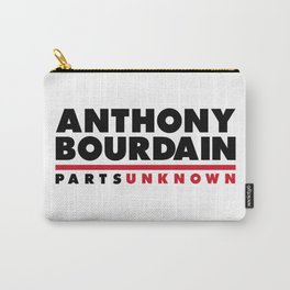 ANTHONY BOURDAIN - PARTS UNKNOWN Carry-All Pouch
