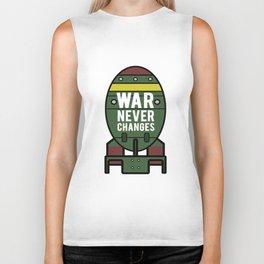 War Never Changes (Nuke) Biker Tank