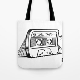 The forgotten Mix Tape Tote Bag