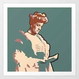 Edith Wharton Art Print