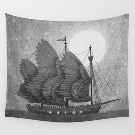 Night Odyssey  Wall Tapestry