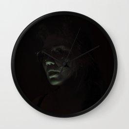 Skullflower II Wall Clock