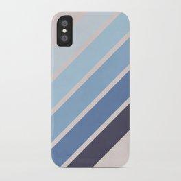 Blue Color Drift iPhone Case