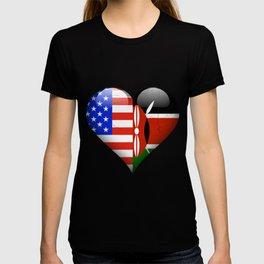 Half American Half Kenyan T-shirt