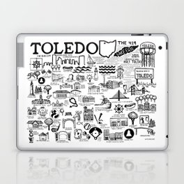 Toledo Ohio Laptop & iPad Skin