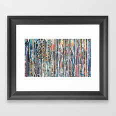 STRIPES 30 Framed Art Print