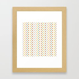 Polka Up Framed Art Print