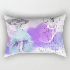 God Save McQueen Rectangular Pillow