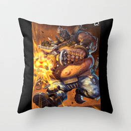 roadhog watch Throw Pillow