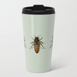 Honey Bee Family Metal Travel Mug