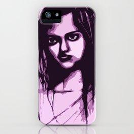 Sullen Girl iPhone Case