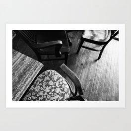 teahouse Art Print