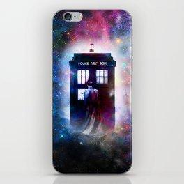 tardis nebula iPhone Skin