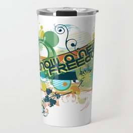 Know a New Freedom Travel Mug
