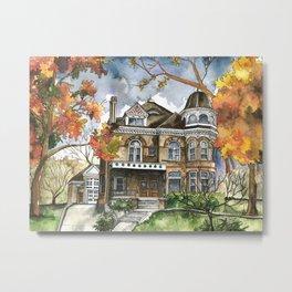 Victorian Autumn Metal Print