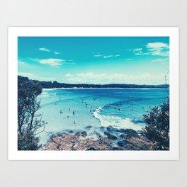 Byron Bay Summer Art Print
