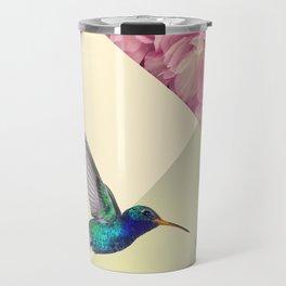 Hummingbird in love Travel Mug