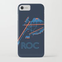 60s iPhone & iPod Cases featuring Rochester (ROC) - 60s by Kyle Rodgers
