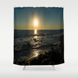 Peaceful Ending Shower Curtain