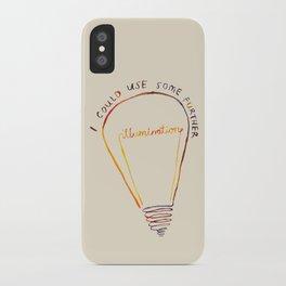Lizzie Bennet #1 iPhone Case