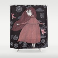 key Shower Curtains featuring The Key by Judith Clay