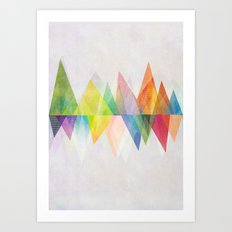 Graphic 37 Art Print